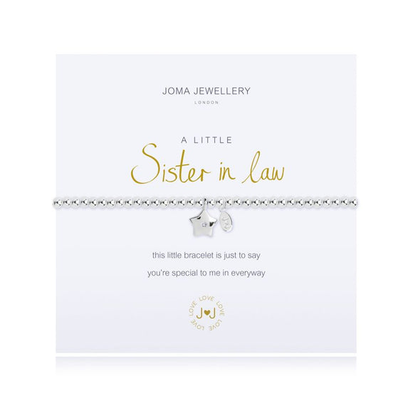 Joma Jewellery, Jewellery,  Allie Mae Living ,  A Little Sister in Law Bracelet - Allie Mae Living (4566473277536)