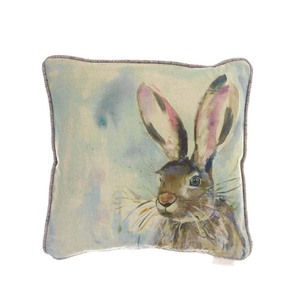 Voyage Maison, Cushion,  Allie Mae Living ,  Harriet Hare Filled Cushion - Allie Mae Living