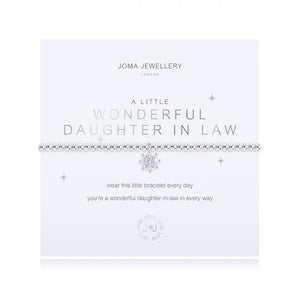 Joma Jewellery, Jewellery,  Allie Mae Living ,  A Little Wonderful Daughter in Law Bracelet - Allie Mae Living