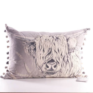 Voyage Maison, Cushion,  Allie Mae Living ,  Rudy Silver Filled Cushion - Allie Mae Living