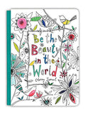 Be the Beauty in the World Colouring Journal