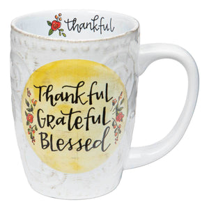 Thankful Grateful Blessed Mug (5391024259232)