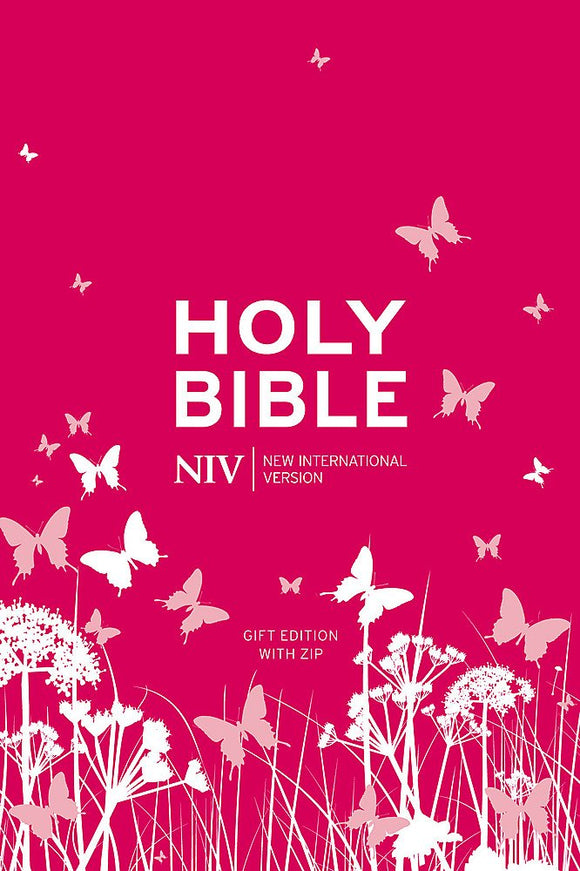 NIV Bible (Pink Gift Edition wth Zip)