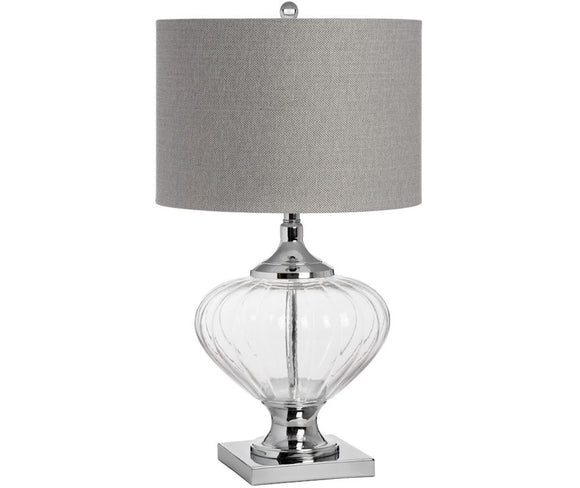 VERONA GLASS TABLE LAMP 64CM (6672816636064)