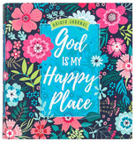 God is My Happy Place Guided Journal