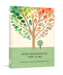 Dear Grandchild, This is Me Memory Book