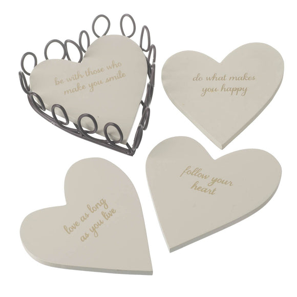 Heaven Sends, Coaster,  Allie Mae Living ,  FOLLOW YOUR HEART COASTERS - Allie Mae Living