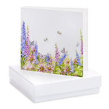 Crumble and Core, Cards,  Allie Mae Living ,  Boxed Meadow and Butterflies Earring Card - Allie Mae Living