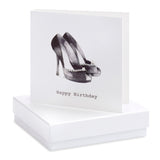 Crumble and Core, Cards,  Allie Mae Living ,  Boxed Party Shoes Earring Card - Allie Mae Living