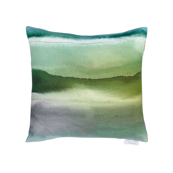 Fjord Emerald Feather Filled Voyage Cushion (6675164037280)