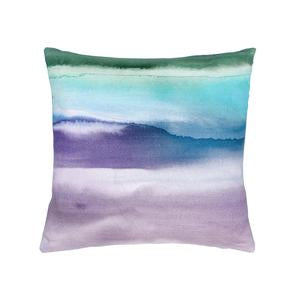 Violet Fjord Feather Voyage Cushion (6675162136736)