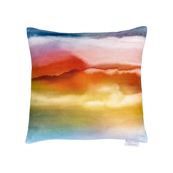 Fjord Sunrise Feather Filled Cushion Voyage (6675155091616)