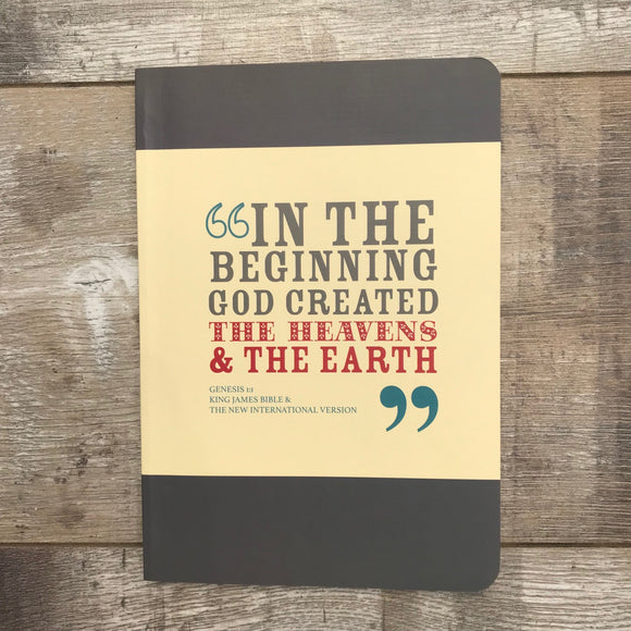 In the Beginning God Notebook