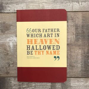 The Lord's Prayer Notebook