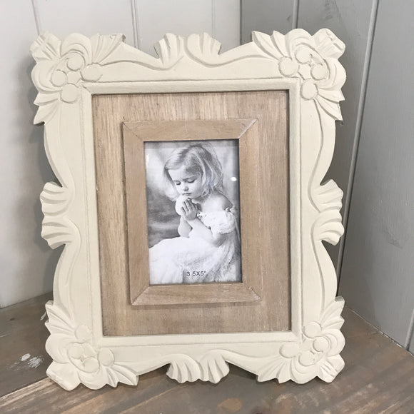Shabby Chic Photo Frame (6675081101472)