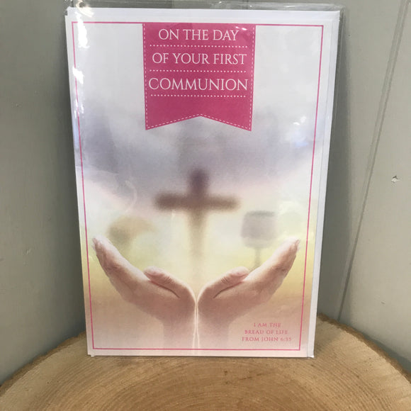 First Communion Card (6692158013600)
