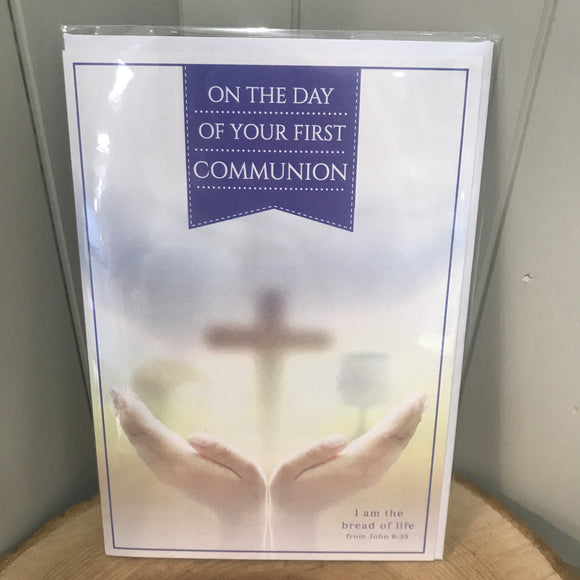 On the Day of Your First Communion Card (6692153327776)