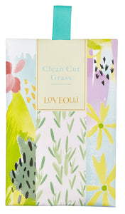 Love Olli, Air Freshener,  Allie Mae Living ,  Clean Cut Grass Scented Sachet - Allie Mae Living
