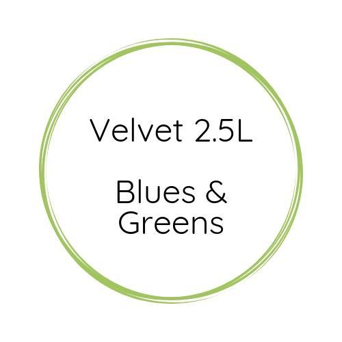 Autentico Velvet 2.5L Blues & Greens-Velvet-Autentico Paint Online (6614846800032)