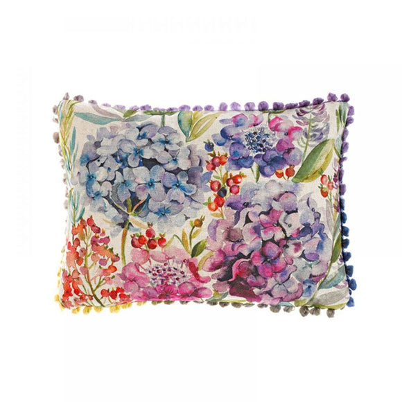 Voyage Maison, Cushion,  Allie Mae Living ,  Hydrangea Filled Cushion Small - Allie Mae Living (4550596165728)