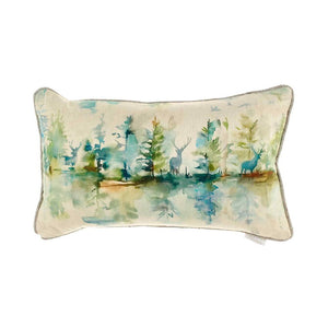 Voyage Maison, Cushion,  Allie Mae Living ,  Wilderness (Topaz) Filled Cushion - Allie Mae Living