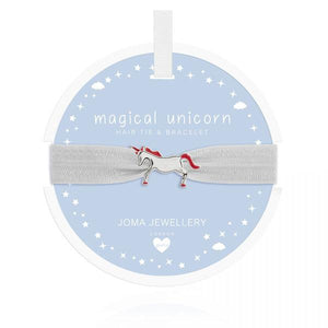 Magical Unicorn Hair Tie & Bracelet