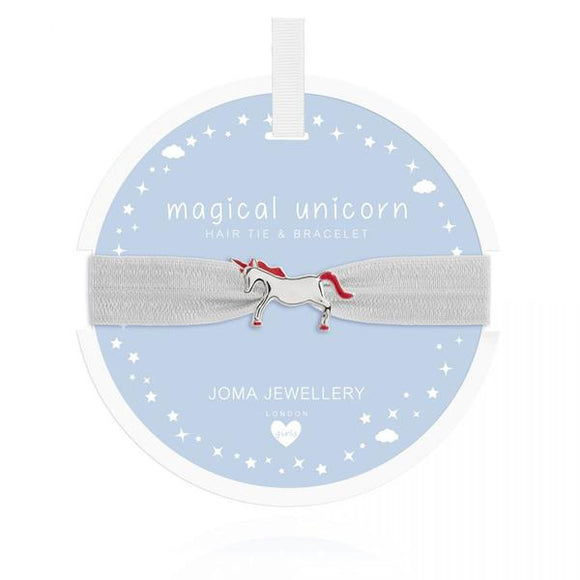 Magical Unicorn Hair Tie & Bracelet (5350932447392)