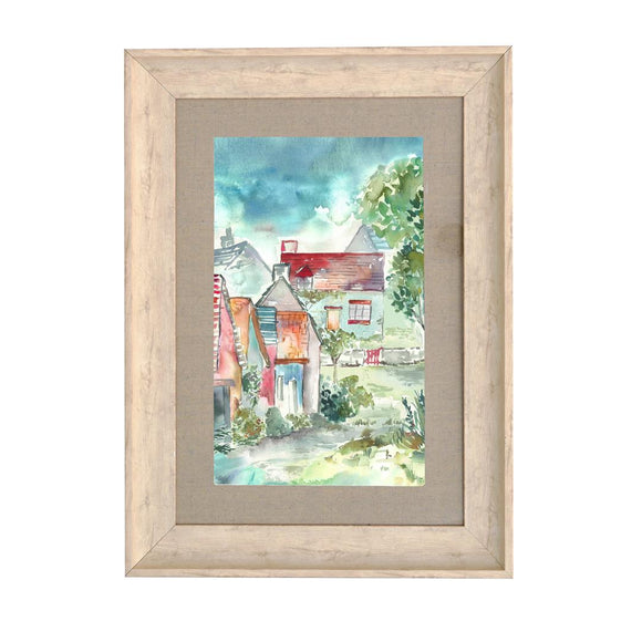 Voyage Maison, Framed Print,  Allie Mae Living ,  PORTREE COTTAGES - Allie Mae Living