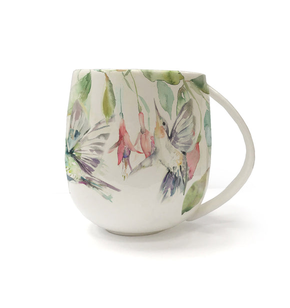 Voyage Maison, Mug,  Allie Mae Living ,  Voyage Fucshia Flight - Allie Mae Living