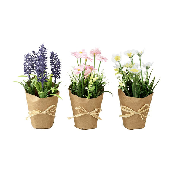 Heaven Sends, Easter,  Allie Mae Living ,  Pretty Flowers In Pots Mix - Allie Mae Living