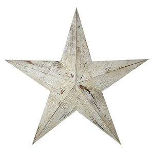 Heaven Sends, Ornament,  Allie Mae Living ,  VERY LARGE WOODEN STAR - Allie Mae Living