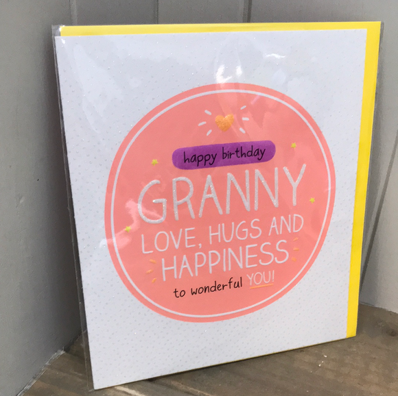 Happy Birthday Granny Card