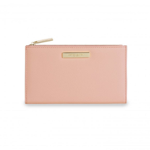 Alise Soft Pebble Fold Out Purse - Blush