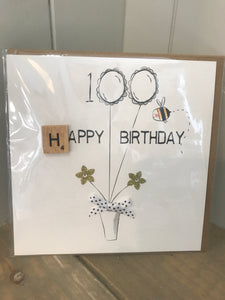 Age 100 birthday card
