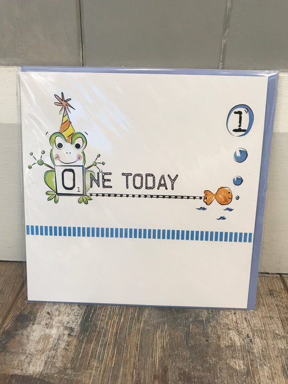 One Today Birthday Card