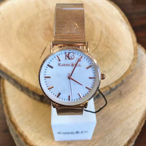 Rose Gold Watch (5879061217440)