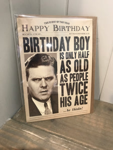 The Event of the Year Birthday Card