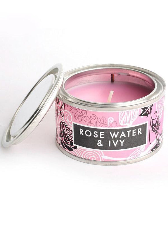Rose Water & Ivy Candle