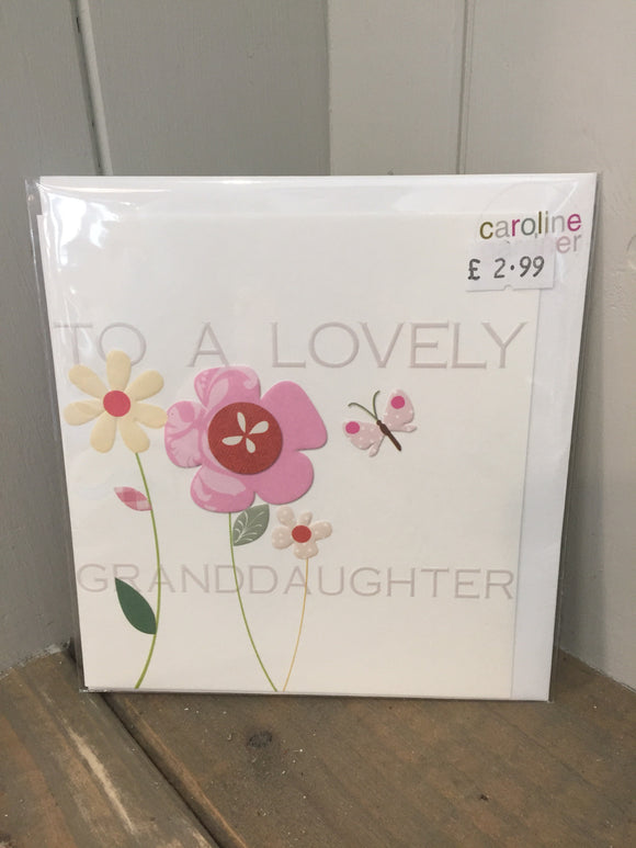 To a Lovely Granddaughter Card