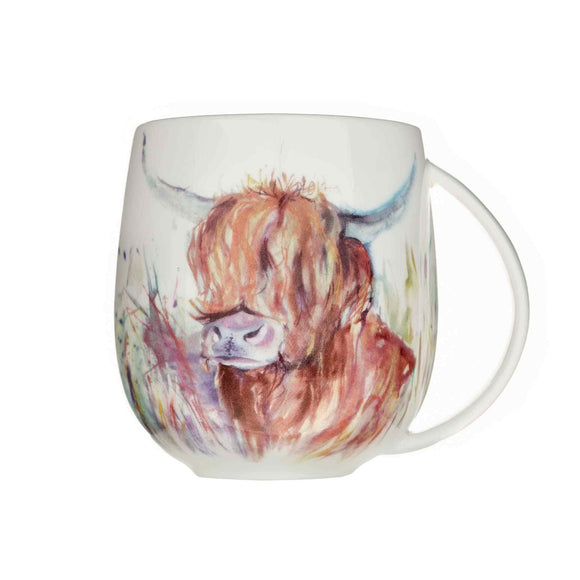 Voyage Maison, Mug,  Allie Mae Living ,  Highland Cow Mug - Allie Mae Living