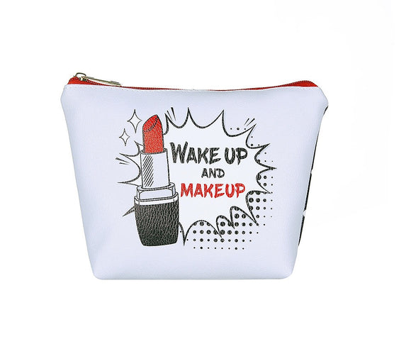 Wake Up Make Up Large Makeup Bag