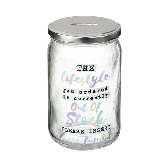 Heaven Sends, Fund Jar,  Allie Mae Living ,  Lifestyle Fund Jar - Allie Mae Living