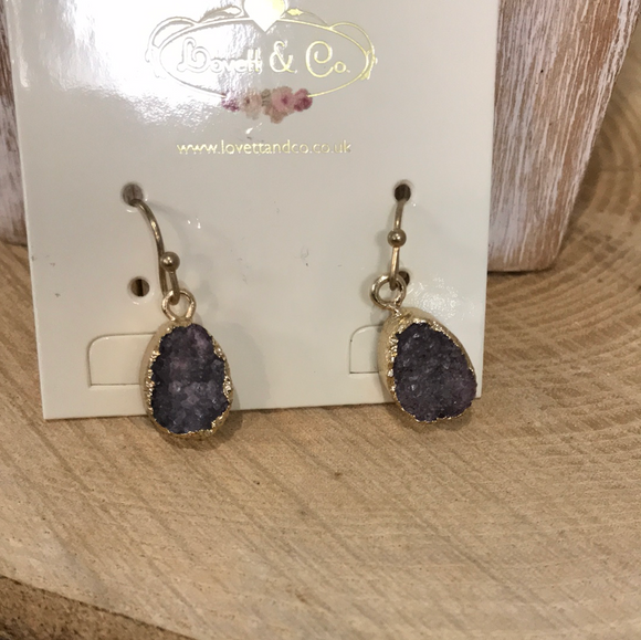 Crystal Earrings (5892298768544)