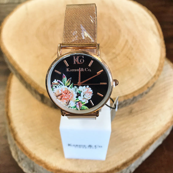 Rose Gold Watch (5879030153376)