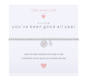 Joma Jewellery, Children's,  Allie Mae Living ,  A Little You've Been Good All Year Bracelet - Allie Mae Living (4569324060768)