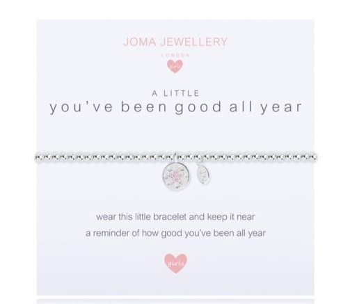 Joma Jewellery, Children's,  Allie Mae Living ,  A Little You've Been Good All Year Bracelet - Allie Mae Living