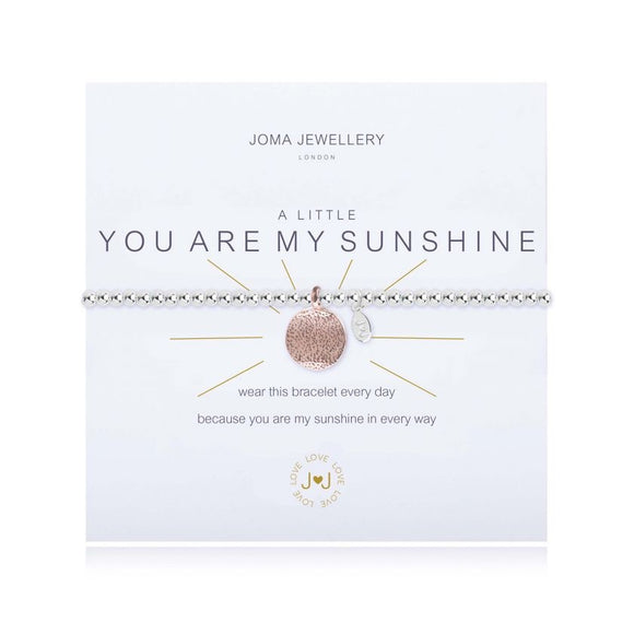 Joma Jewellery, Jewellery,  Allie Mae Living ,  A Little You Are My Sunshine Bracelet - Allie Mae Living (4576559988832)