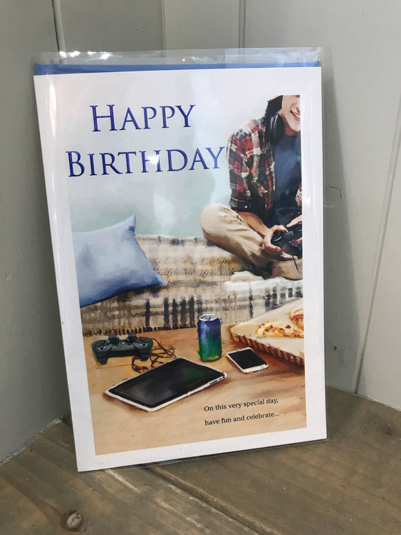 Happy Birthday (Video Games) Card