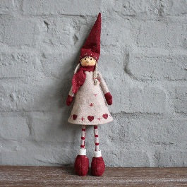 Red Standing Dolly
