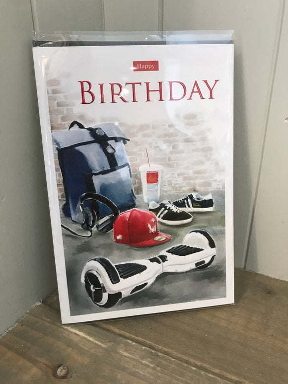 Copy of On your Birthday (Bag) Card